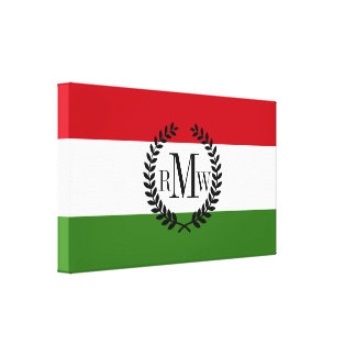 Flag of Hungary Canvas Print