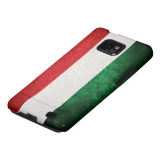 Flag of Hungary Galaxy SII Cases