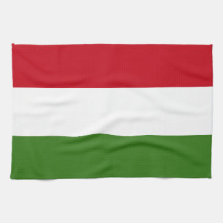 Flag of Hungary Hand Towels