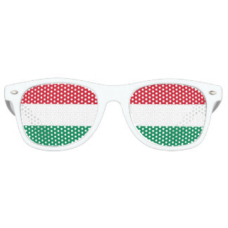 Flag of Hungary Retro Sunglasses