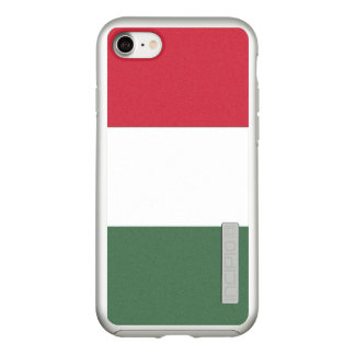 Flag of Hungary Silver iPhone Case