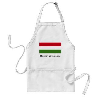 Flag of Hungary Standard Apron