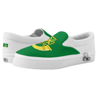 Flag of Huntingdonshire Slip-On Sneakers