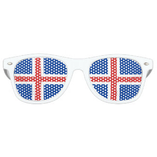 Flag of Iceland Party Shades