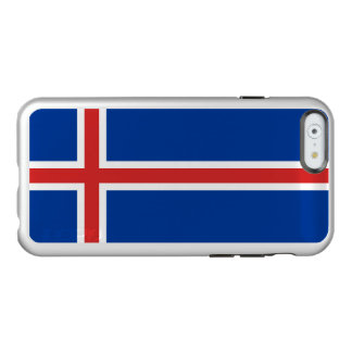 Flag of Iceland Silver iPhone Case Incipio Feather® Shine iPhone 6 Case