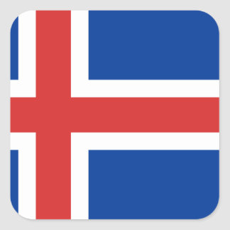 Flag of Iceland Stickers