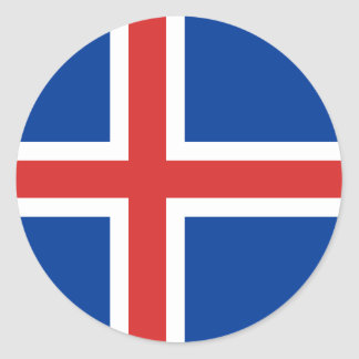 Flag of Iceland Sticker
