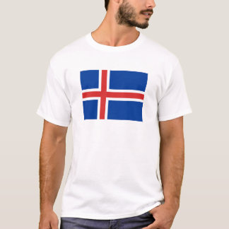 Flag of Iceland  T-Shirt