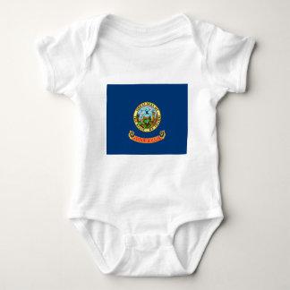 Flag Of Idaho Baby Bodysuit