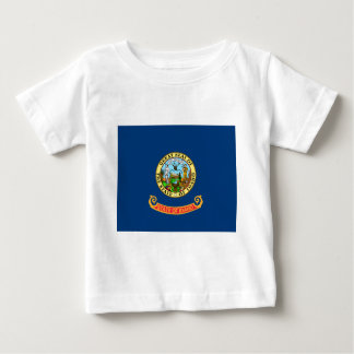 Flag of Idaho Baby T-Shirt