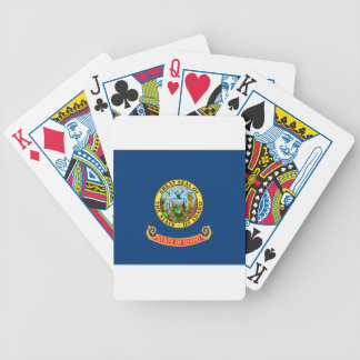 Flag Of Idaho Bicycle Playing Cards