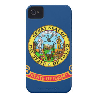 Flag Of Idaho iPhone 4 Cases