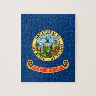 Flag Of Idaho Jigsaw Puzzle
