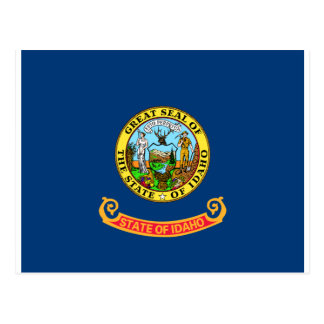 Flag of Idaho Postcard