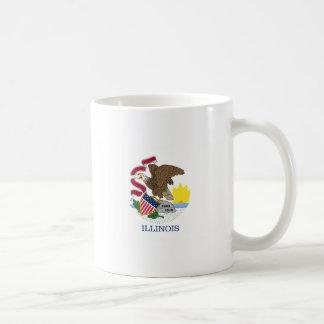 Flag Of Illinois Coffee Mug