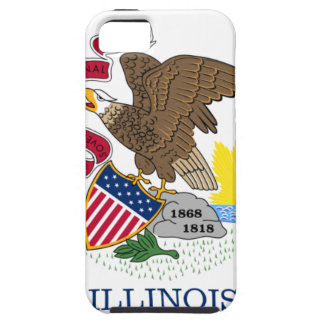 Flag Of Illinois iPhone 5 Covers