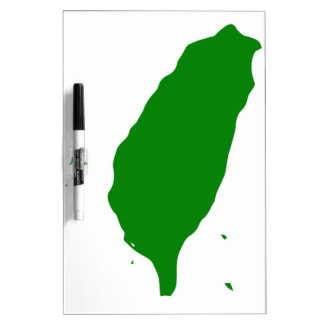 Flag of Independent Taiwan - 臺灣獨立運動 - 台灣獨立運動 Dry Erase Boards