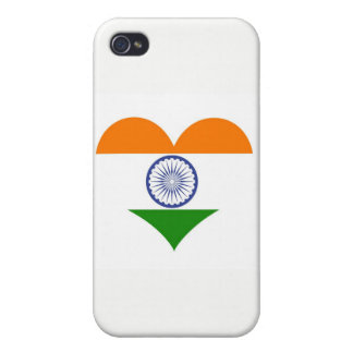 Flag of India Ashoka Chakra iPhone 4 Case