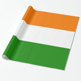 Flag of India Ashoka Chakra Wrapping Paper