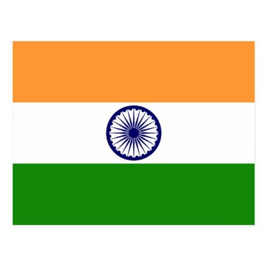 Flag of India Postcard