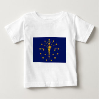 Flag Of Indiana Baby T-Shirt