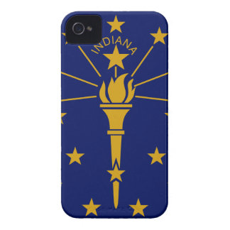 Flag Of Indiana iPhone 4 Case