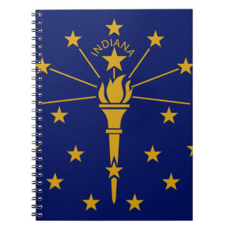 Flag Of Indiana Notebook