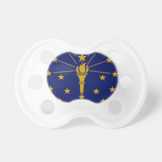 Flag Of Indiana Pacifier