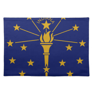 Flag Of Indiana Placemat
