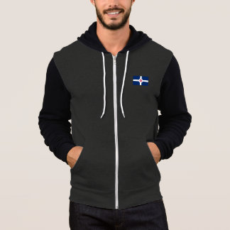 Flag of Indianapolis, Indiana Hoodie