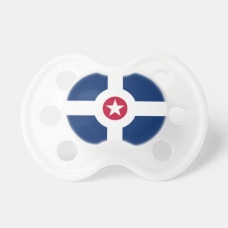 Flag of Indianapolis, Indiana Pacifier