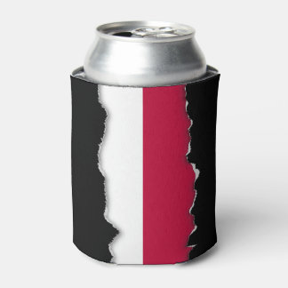 Flag of Indonesia Can Cooler