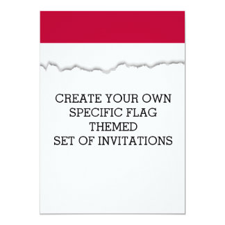 Flag of Indonesia Card