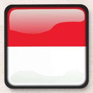 Flag of Indonesia Coasters