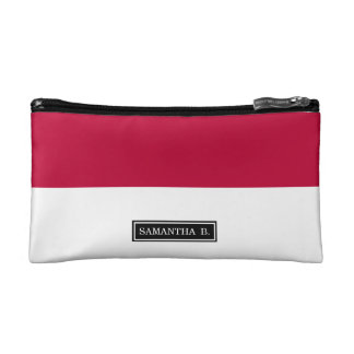 Flag of Indonesia Cosmetic Bag