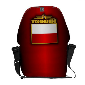 Flag of Indonesia Courier Bag