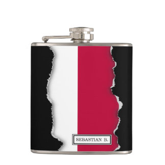 Flag of Indonesia Hip Flask
