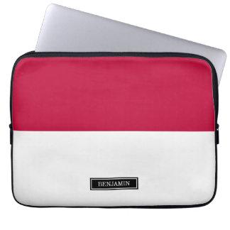 Flag of Indonesia Laptop Sleeve