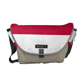 Flag of Indonesia Messenger Bag