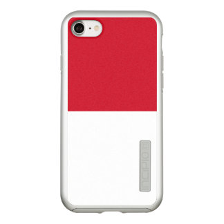 Flag of Indonesia Silver iPhone Case