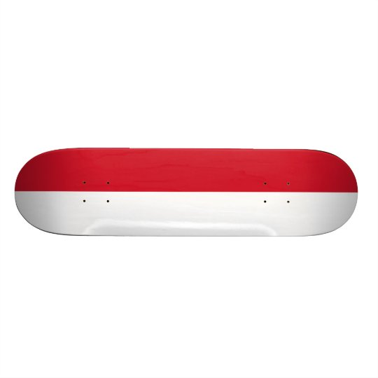Flag of Indonesia Skateboard Deck