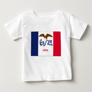 Flag Of Iowa Baby T-Shirt
