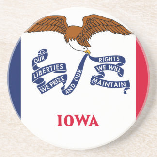 Flag Of Iowa Coaster