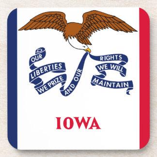 Flag Of Iowa Coaster