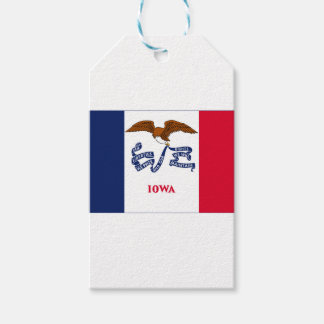 Flag Of Iowa Gift Tags
