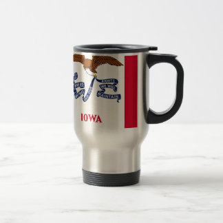 Flag Of Iowa Travel Mug