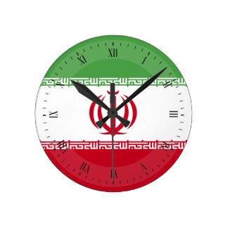 Flag of Iran Clock