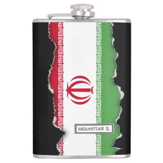 Flag of Iran Flask