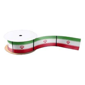 Flag of Iran Satin Ribbon