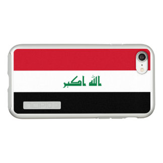 Flag of Iraq Silver iPhone Case